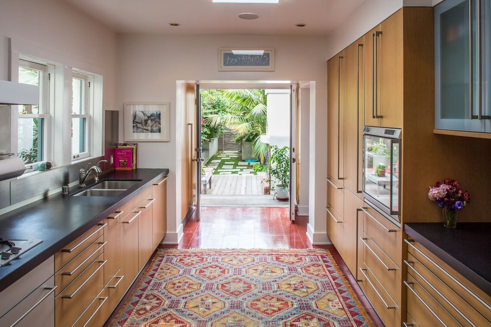 Washable Kitchen Rugs with Contemporary Kitchen and Area Rug ...