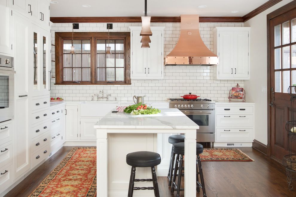 Washable Kitchen Rugs With Traditional Kitchen And Area Rugs Cabinet  Hardware White Kitchen Cabinets Wood Flooring Recessed Panel Cabinets
