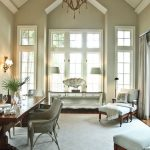 What is Rugged Individualism with Beach Style Living Room and  Beach  Fossil Accessory  Sconces  Transitional  Vaulted Ceiling